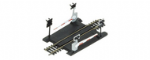 R645 Hornby: Single Track Level Crossing